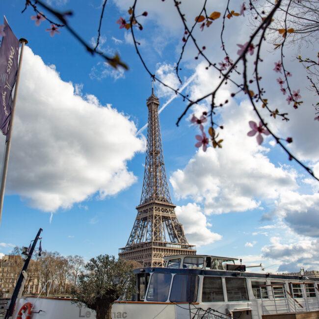 Eiffelturm an der Seine